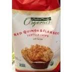 Max 72% OFF Red Quinoa Flaxseed Tortilla Chips oz. Sea Salt 12 w Philadelphia Mall
