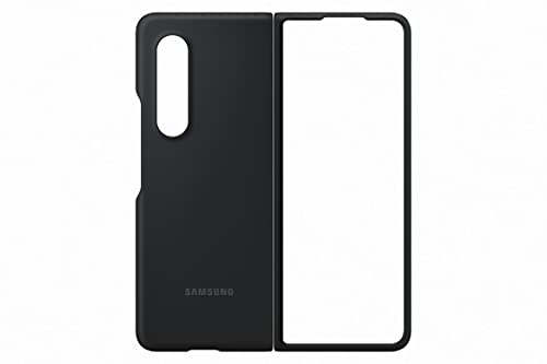 Samsung Silicon Cover per Samsung Galaxy Z Fold3 5G, Black