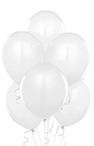 "9"" White Balloons Wedding Balloons Birthday Party Decoration Latex BalloonsUSA SELLER(Jarty Party Brand)"
