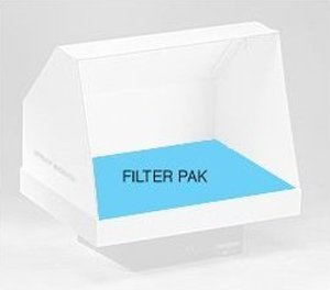 Artograph 1520  Spray Booth Replacement  Filter Pack (4 ea. Mid-filter & Poly-carb pads)