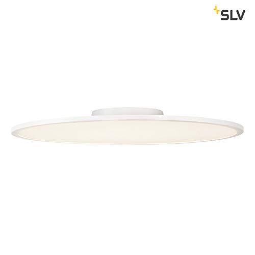 SLV PANEL 60 rund, LED Indoor Deckenaufbauleuchte, weiß, 3000K Leuchten Aluminium 42 W