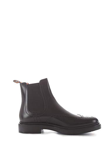 Santoni Luxury Fashion Herren MGWB16953NERIRYCN01 Schwarz Stiefeletten | Herbst Winter 19