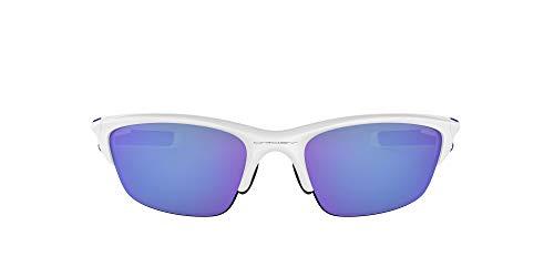 Oakley HALF JACKET 2.0 - Gafas de ciclismo, talla única, color banco perla/morado iridio