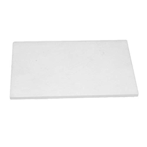 Hoge kwaliteit acryl transparante klei aardewerk Sculpture Tool Werkbank Drukplaat DIY Polymeer Klei Acryl Vel Backing Board voor het vormen van gereedschappen - Transparant, 10X15X0.4CM