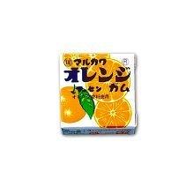 丸川製菓 オレンジマーブルガム 6粒×33個