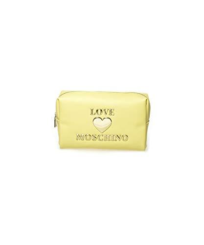 Love Moschino NECESSAIRE BEAUTY JC5308PP1CLF0400 GIALLO BIOSA BORSE