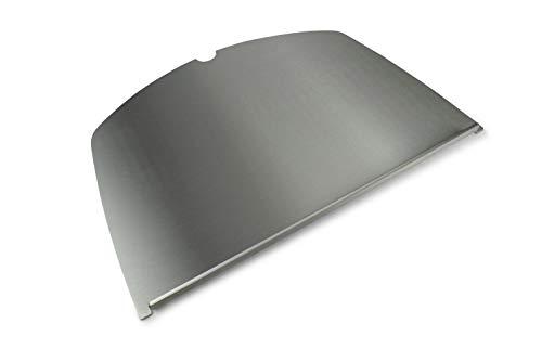Edelstahl Grillplatte/Plancha passend für alle Grills der Weber Baureihe (Q300/Q3000 Baureihe)