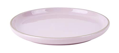 Present Time Assiette à dessert Brisk21,5 cm en terre cuite rose clair