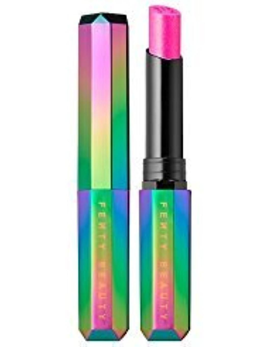 醸造所関係ないアシスト【並行輸入品】FENTY BEAUTY BY RIHANNA Starlit Hyper-Glitz Lipstick Gravity - shimmering hot pink