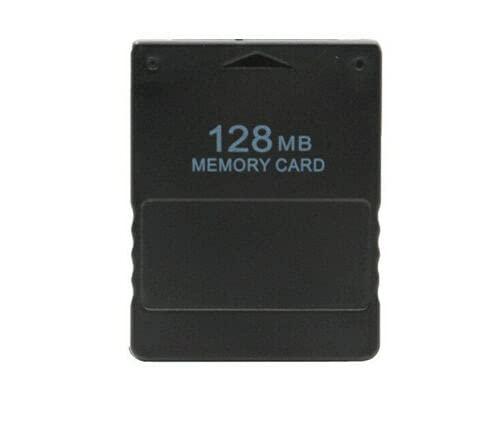 scheda di memoria ad Alta velocità Compatibile per Console PS2 Playstation 2 Sony memory card (128MB)