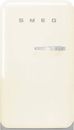Smeg FAB10LCR2 - Frigorifero Monoporta Anni '50, Panna, 130 litri, Cerniere a Sinistra, A++