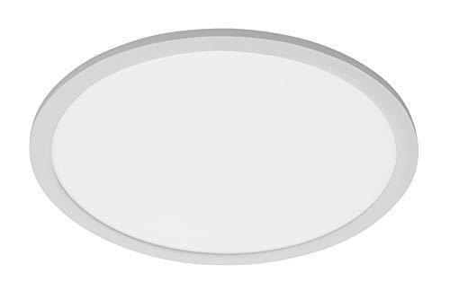 LED Deckenpanel Telefunken 309104TF Deckenleuchte Sensor Chrom Weiß