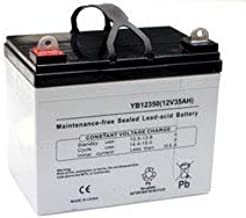 Replacement For Hahn Gt-736e Lawn Tractor And Mower 35ah Deep Cycle Agm Battery By Technical Precision