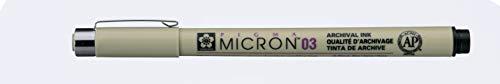 Pigma MICRON Fineliner, schwarz, 0.35mm (Nr.03)