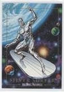 Silver Surfer (Trading Card) 1992 SkyBox Marvel Masterpieces - [Base] #90