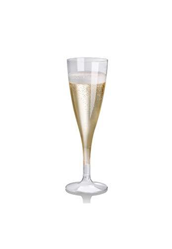 flûtes 27 à Champagne 10 cl en PLA 100% biodégradable