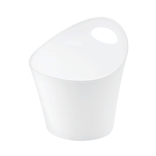 koziol pot à découpe 1,2 l Potichelli M, thermoplastique, blanc, 16,2 x 15 x 17 cm