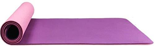 Busirsiz Estera de Yoga, colchonetas de Gimnasia for Principiantes for el Movimiento de Hombres y Mujeres se ensanchan, Estera de la Aptitud Antideslizante