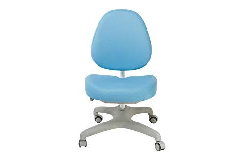 FD FUN DESK Bello I Blue in hoogte verstelbare bureaustoel, stoel voor kinderen, blauw, 510x530x835 mm