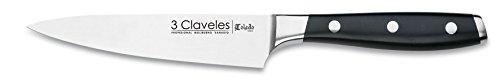 3 Claveles - Cuchillo Cocinero Forjado,...