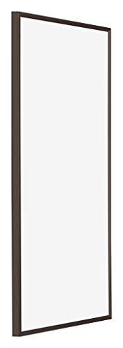 yd. - 40x80 cm - Cadres Photos en Plastique avec Verre de Sécurité - Excellente Qualité -Antrazit - Plaque de Verre Résistant Aux UV - Anti-Reflet - Cadre Decoration Murale - Evry.