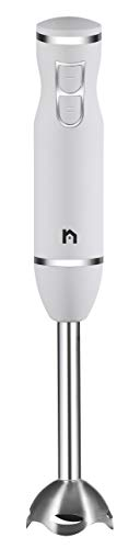 New House Kitchen Immersion Hand Blender 2 Speed Stick Mixer with Stainless Steel Shaft & Blade, 300...