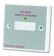 CT06 BF318 - Indicador LED Remoto para Placa de Incendio, Sistema de Alarma de Incendios