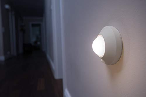 Osram LED Nightlux Ceiling Batteriebetriebene Leuchte, für innenanwendungen, Bewegungssensor, Tag-Nacht-Sensor, Kaltweiß, 86, 0 mm x 47, 0 mm