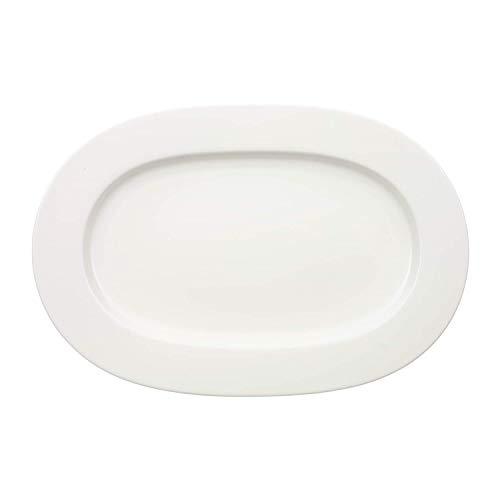 Villeroy & Boch - Plat Ovale Royal, Grand Plat de Service en Porcelaine Bone Premium de Grande Qualité, Compatible Lave-Vaisselle, 41 cm