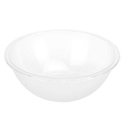 Jarchii Bol de Service, récipients de Service réutilisables de Salade, Grande capacité Transparente sans Odeur pour l'accessoire de Cuisine de Restaurant de matériel(Large 30cm Drop Resistance 330g)