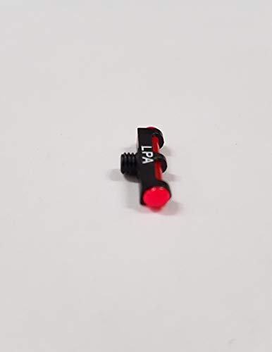 LPA MIRINO per Fucile da Caccia Fibra Ottica Rosso Verde Giallo (Rosso DIAM 2,6)