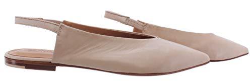 POMME DOR Damen Sandalen Schuhe 1016 Glove Nude Leder Beige