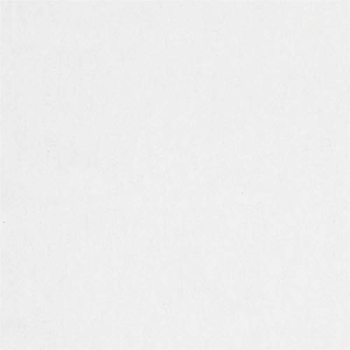 Camelot Fabrics Solid Flannel, Yard, White