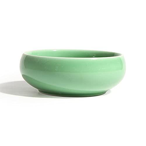 Quanqing Porseleinen Thee Afval Thee Accessoires God Oven Crack Draw Wash Keramische Water Wash Salade-Met Ziqing (groot)