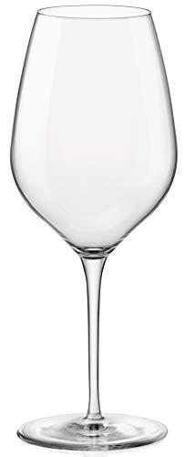 Bormioli Rocco 365742GRP021990 InAlto Tre Sensi - Copa de vino (tamaño grande, 6 unidades), transparente