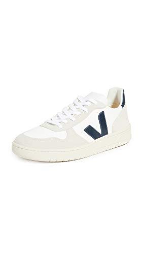 Veja Herren Sneaker V-10 Weiss/blau (902) 43