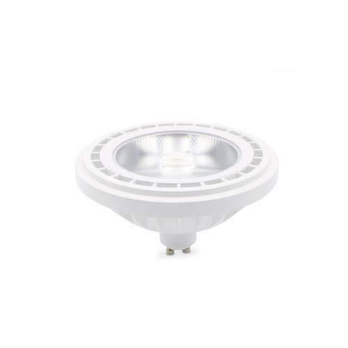 GSC Lámpara LED COB AR111 15W GU10 2700K regulable, Blanco
