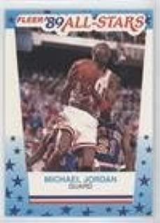michael jordan fleer 90 all stars card