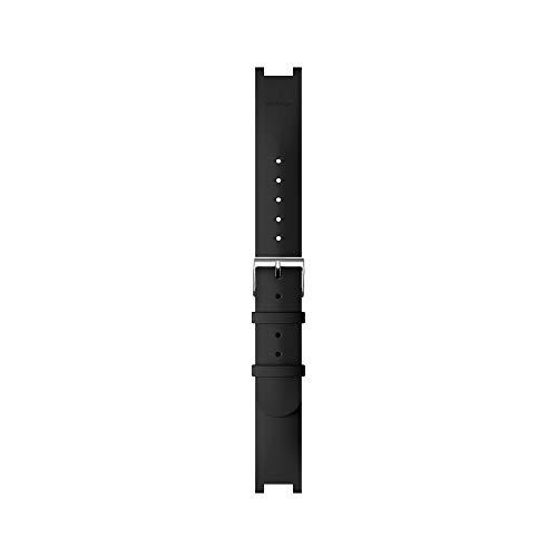 Nokia Withings Herren Uhrenarmbänder für Pulse HR, Silikon, Schwarz, Größe M