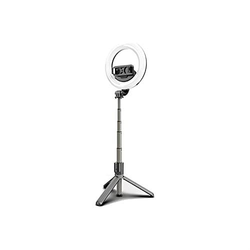 WGLL Selfie Stick Tri Trípode, palito de Selfie Bluetooth de Aluminio Extensible con Soporte Remoto inalámbrico y trípode para teléfono Inteligente