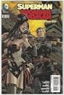 Superman Wonder Woman #5 1:25 Panosian Variant