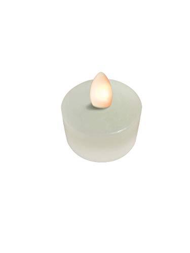Sompex Shine LED Teelicht | 4er Set | Fernbedienbar | Multi LED Technologie | Echtwachs | 100h Laufzeit