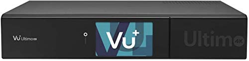 VU+ Ultimo 4K 1x DVB-S2 FBC Twin Tuner Satellitenreceiver (PVR ready, Linux Receiver, Ultra High Definition 2160p)