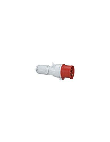 Legrand CEE 16A Stecker, rot 4-polig (3P+PE), 6h (400V/16A), Schutzart IP44, IK09