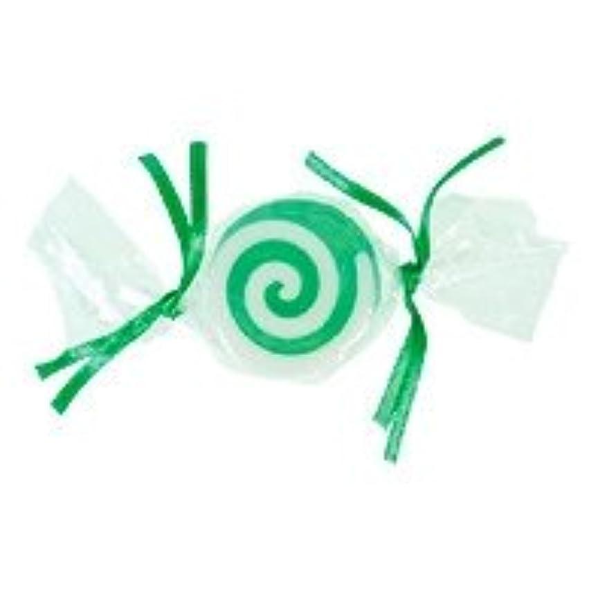 冊子標高ダースベジタブルソープ キャンディ「グリーン」20個セット グリーンアップルの香り