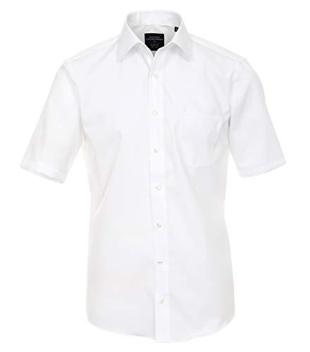 Casamoda 008570 Camicia, Bianco (Weiß), Formato del Collare: 42 Uomo