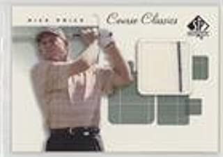 Nick Price (Trading Card) 2002 SP Authentic - Course Classics Golf Shirts #CC-NP