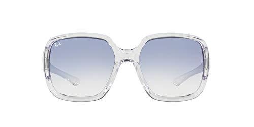 Ray-Ban 0RB4347 Gafas, TRANSPARENT, 60 Unisex Adulto
