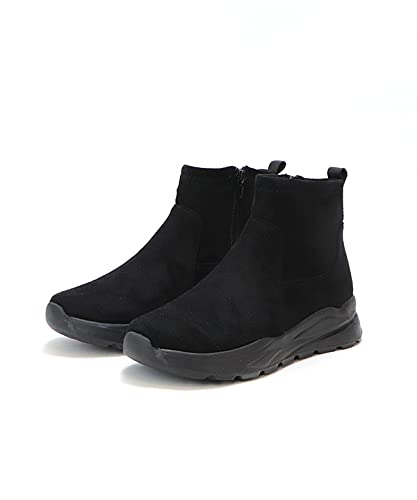 [ベース] スニーカーブーツ【ブラック/ブラック/L】