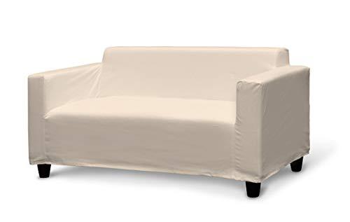 Dekoria Klobo Sofabezug Sofahusse passend für IKEA Modell Klobo beige